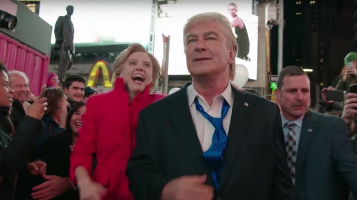 See 'SNL' Rebel Against 'Gross' Election in Cathartic Sketch