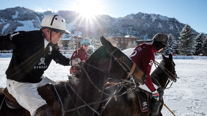 The Fast, Physical, and Frozen Joys of Snow Polo