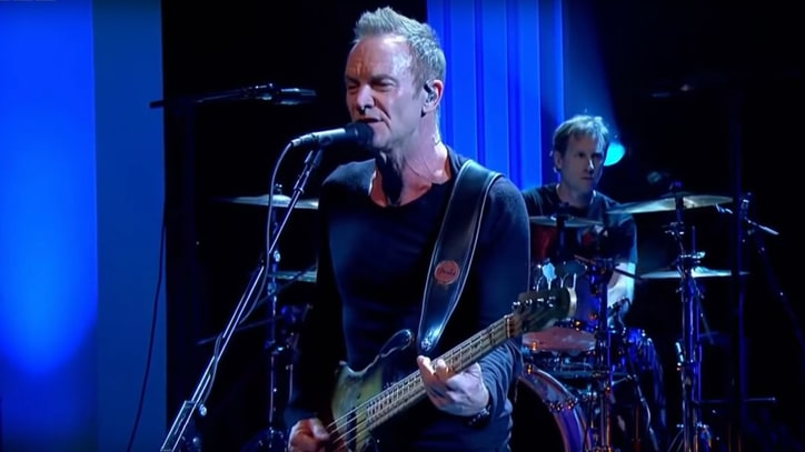 Watch Sting Debut Bowie, Prince-Inspired Song '50,000'