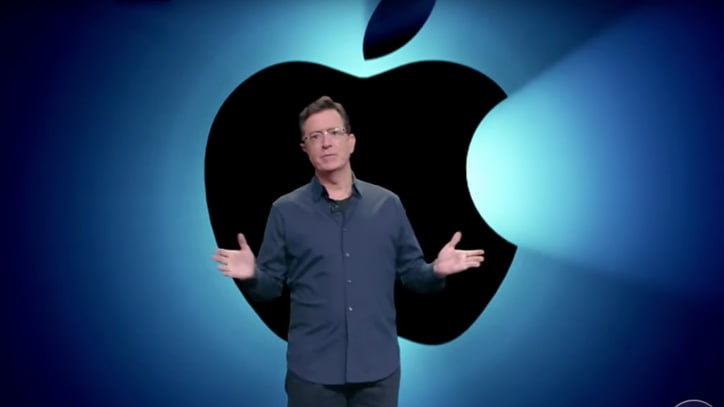 Watch Colbert Literally Break Down New iPhone 7