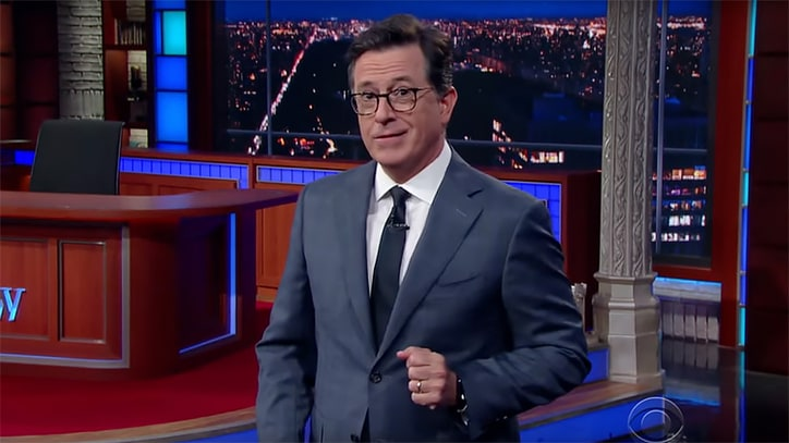 See Stephen Colbert Mock Donald Trump Jr. for Russia Meeting