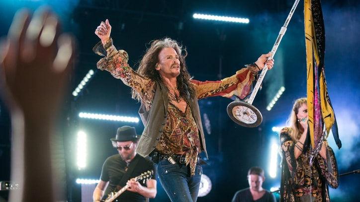 Steven Tyler Playfully Feigns 'Shock' at Disney Ride Editing