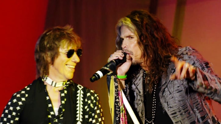 See Jeff Beck, Steven Tyler Play Raucous 'Train Kept A-Rollin''