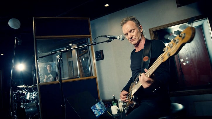 Watch Sting Play Driving New Single 'I Can't Stop Thinking About You'