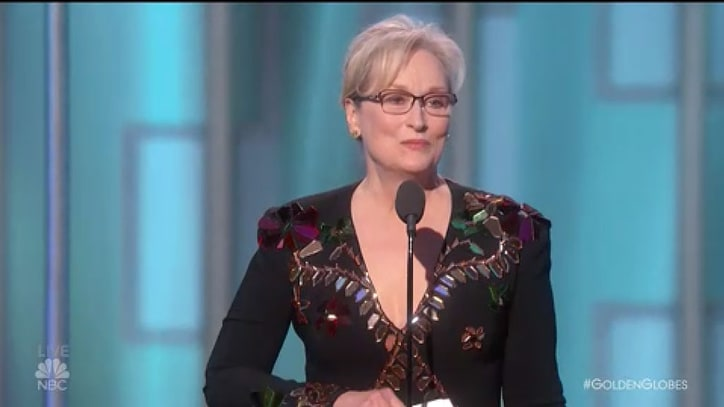 Watch Meryl Streep's Fiery 2017 Golden Globes Speech