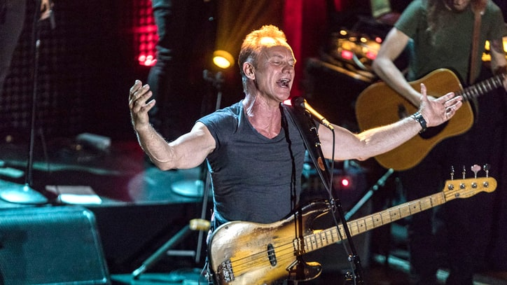 Review: Sting Flexes Rock Muscles on '57th and 9th'
