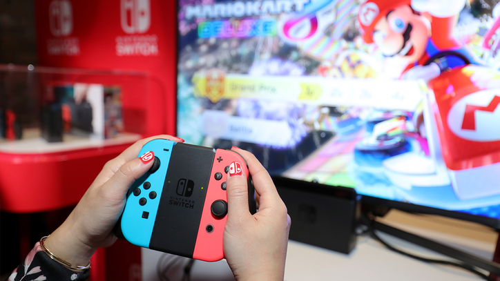 Hands-On With New Console Nintendo Switch