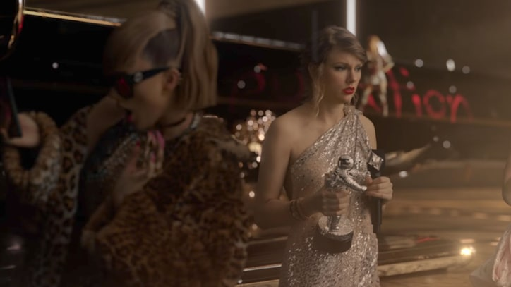 Watch Taylor Swift Mock Herself in Dark 'Look What You Made Me Do' Video