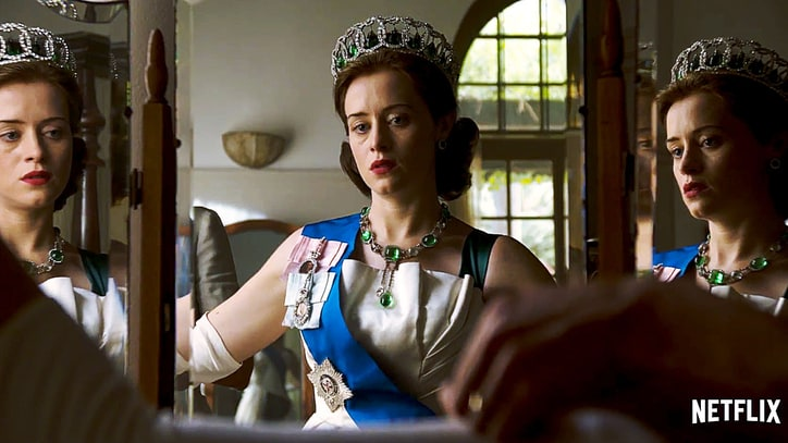 Queen Elizabeth Copes With Crises in Riveting Trailer for 'The Crown'