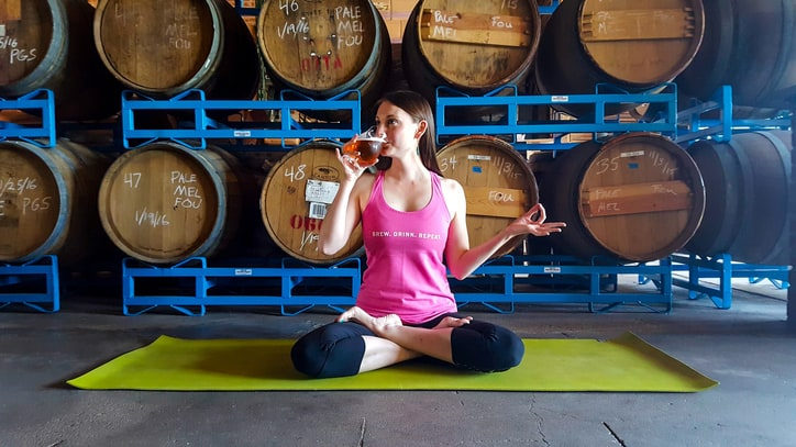 Now On Tap: Yoga at Your Local Brewery