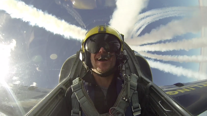 Riding Shotgun With the Breitling Jet Team