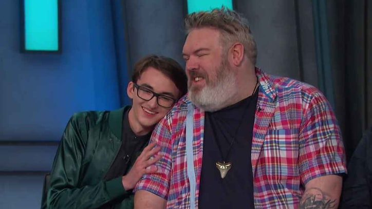Watch 'Game of Thrones'' Hodor, Bran's Surprise Reunion on 'Conan'