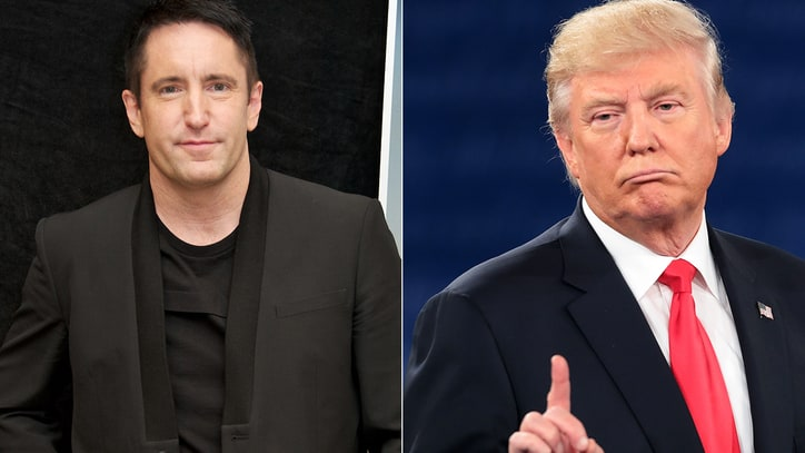 Trent Reznor Calls Donald Trump Candidacy 'Absurd'