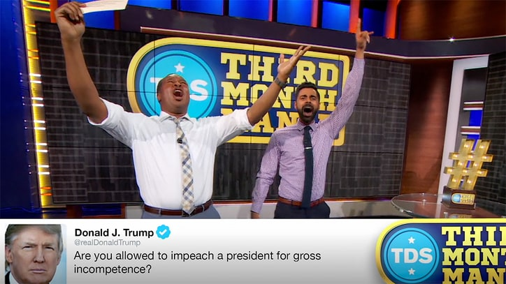 Watch 'Daily Show' Proclaim Trump's Greatest Tweet