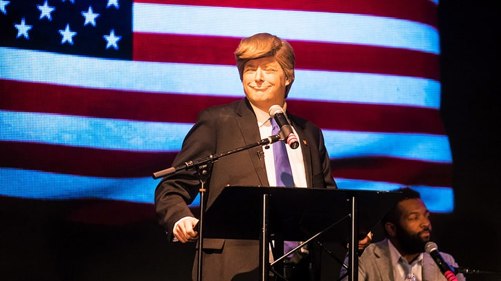 Election's Best Trump Impersonator Reveals His Secrets