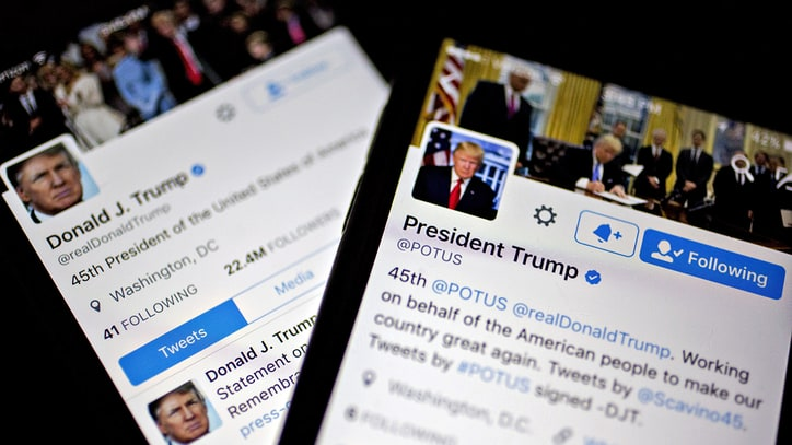 'Daily Show' Details Trump Presidential Twitter Library