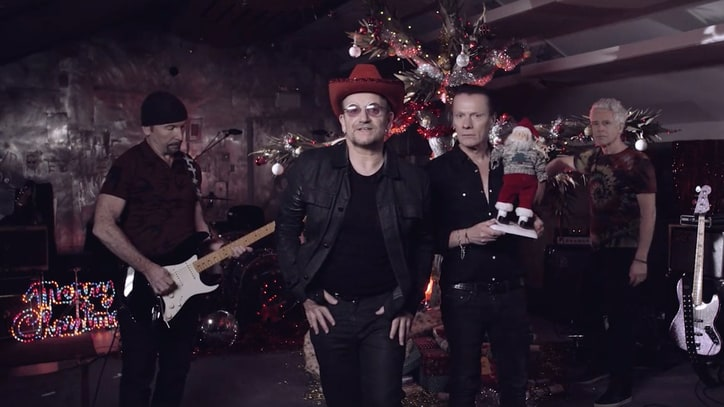U2 Hint at New LP, 'Joshua Tree' 30th Anniversary Shows in Christmas Video