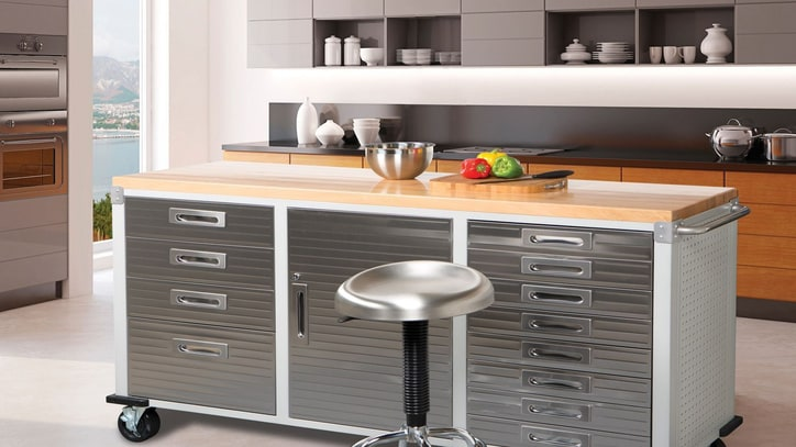 Industrial Cabinets Every Garage (or Kitchen) Needs