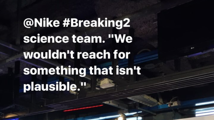 The Science Behind Nike's Breaking2 Attempt