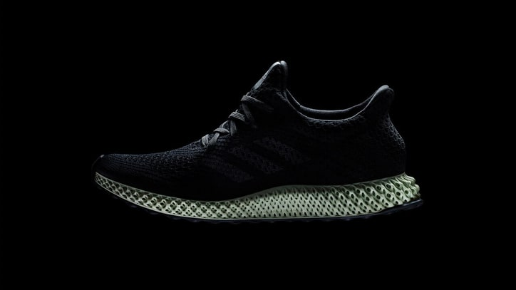 Adidas Unveils Futurecraft 4D, The World's First Mass-Produced 3D-Printed Shoe