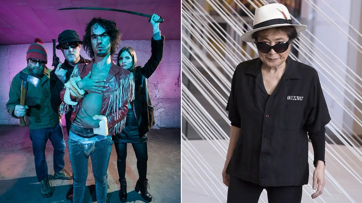 Hear Yoko Ono's Trippy New Collaboration With the Moonlandingz