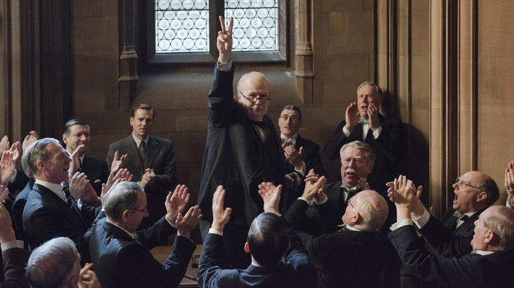 'Darkest Hour' Review: Gary Oldman Gives Us a Fearsome, Oscar-Worthy Churchill