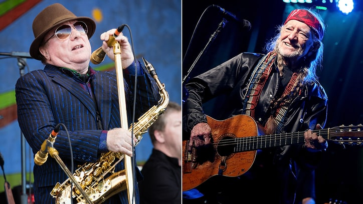 Van Morrison Joins Willie Nelson's Outlaw Music Fest