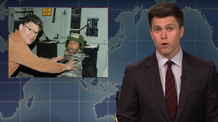 Watch 'SNL' Tackle Al Franken, Roy Moore Accusations in 'Weekend Update'