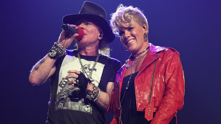 See Guns N' Roses Duet With Pink on 'Patience'