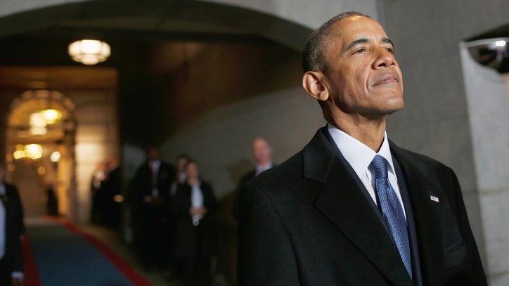 Watch Obama's First Post-Presidency Public Appearance