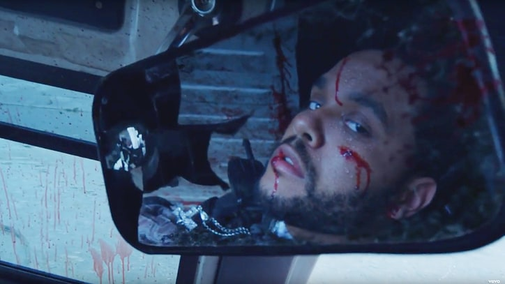 Watch the Weeknd's Violent, Intense 'False Alarm' Video