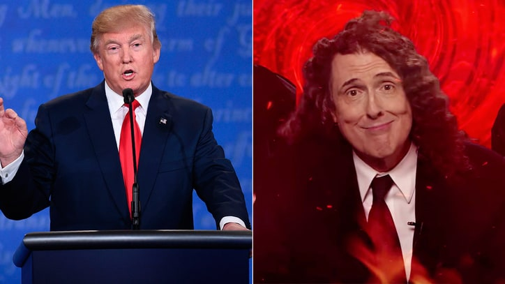 See 'Weird Al' Yankovic's Hilarious Debate Parody 'Bad Hombres, Nasty Women'