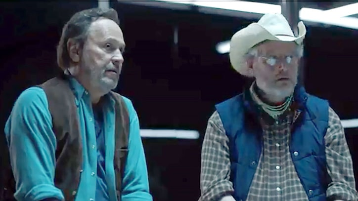 See 'City Slickers' Stars Reunite for 'Westworld' Parody