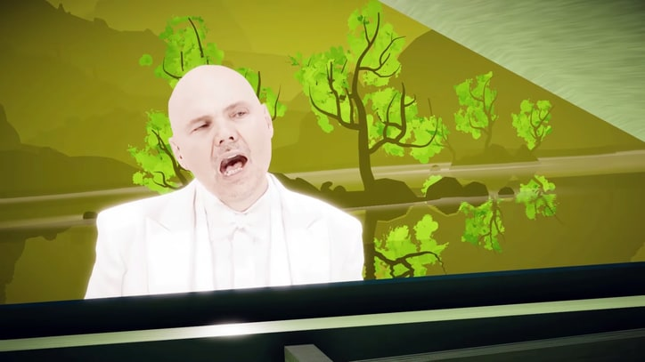 Watch Billy Corgan's Trippy Cosmic Voyage in 'Aeronaut' Video