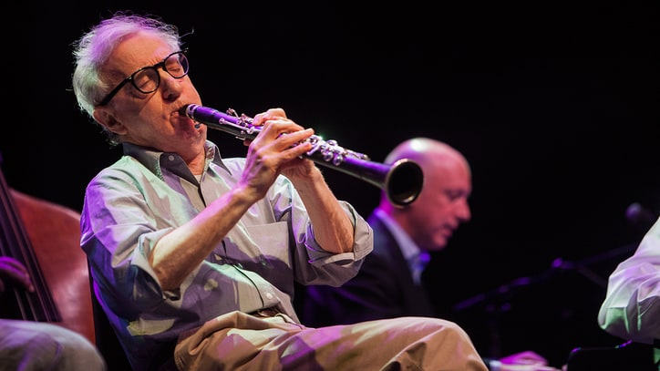 Topless Feminist Activists Disrupt Woody Allen's Germany Jazz Concert