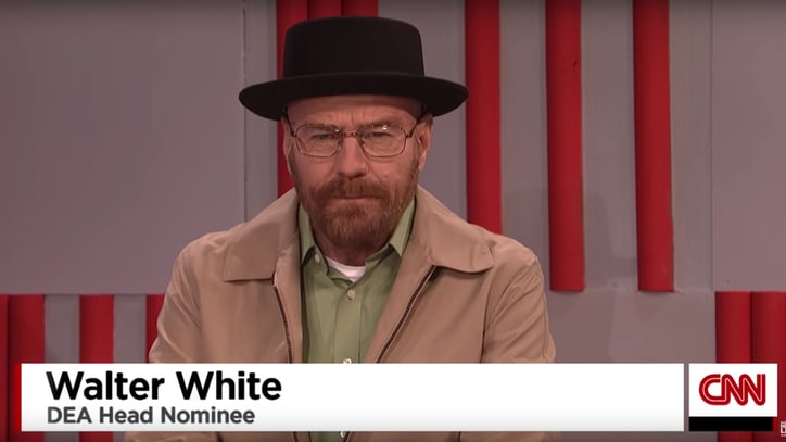See 'Breaking Bad''s Walter White End Exile to Join Trump Cabinet on 'SNL'