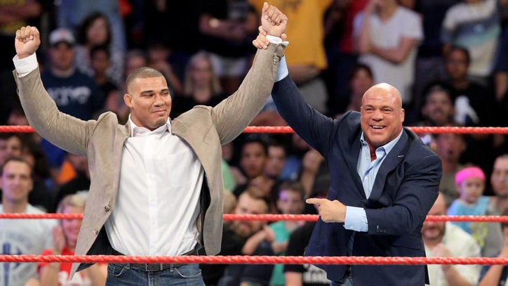 WWE Raw: Jason Jordan Is Kurt Angle's Son?