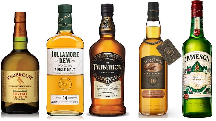 Five Brilliant Irish Whiskeys to Drink This Saint Paddy's Day