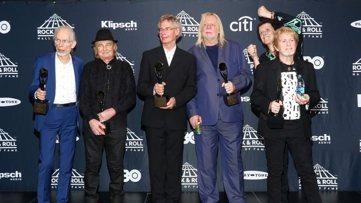 Yes' Steve Howe, Alan White Talk Rock Hall of Fame Reunion
