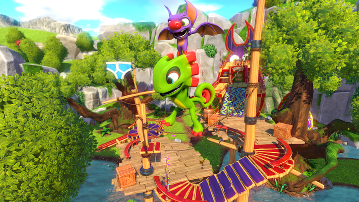 'Yooka-Laylee' Has the Feel of a Nineties N64 Game, But Not the Discipline