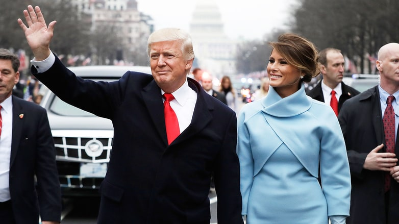 Donald Trump's Inauguration Day, in Pictures