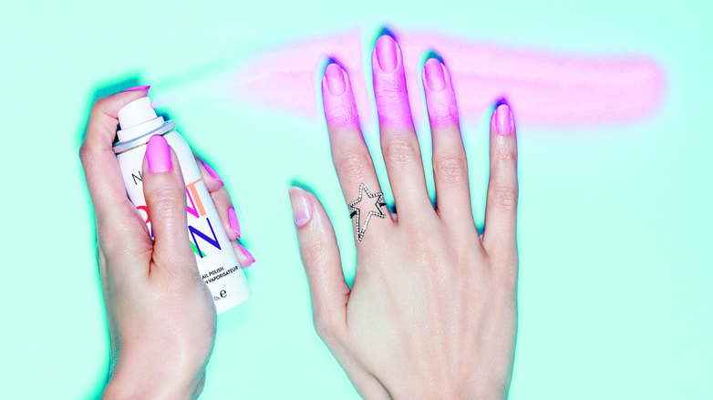 Spray-On Nail Polish Is a Real Thing and It's Incredible