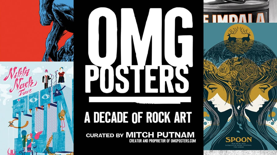 OMG Posters: A Decade of Limited-Edition Concert Art
