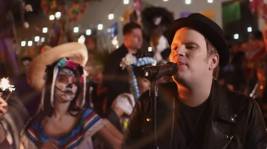 See Fall Out Boy Celebrate 'Day of the Dead' in 'Hold Me Tight or Don't' Video