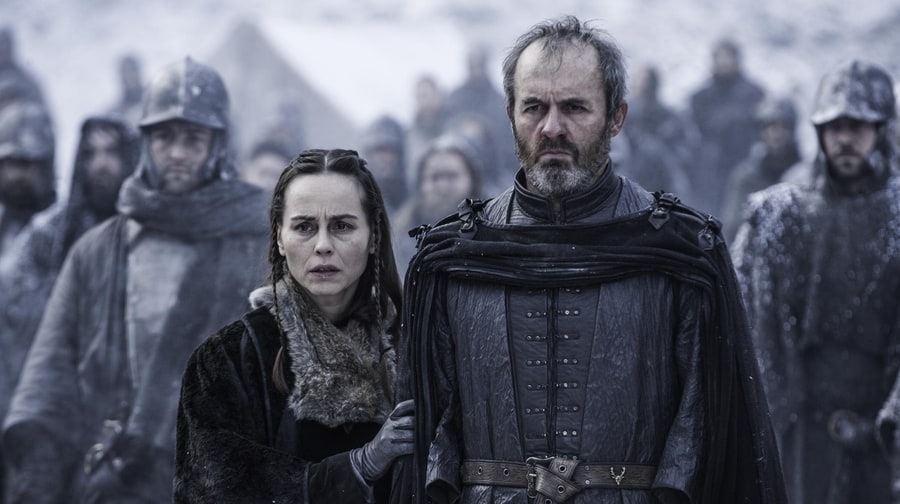 Stannis Burns His Daughter Alive