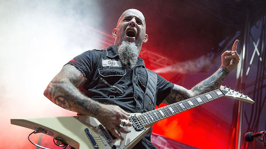 Anthrax's Scott Ian on AC/DC's Malcolm Young: 'Greatest Rhythm Guitarist of All Time'