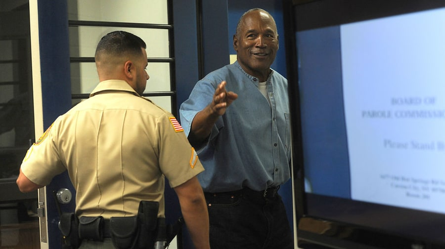 O.J. Simpson Released From Prison