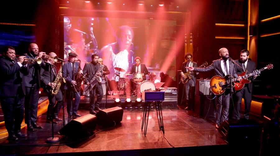 Watch Dap-Kings' Poignant Sharon Jones Tribute on 'Fallon'