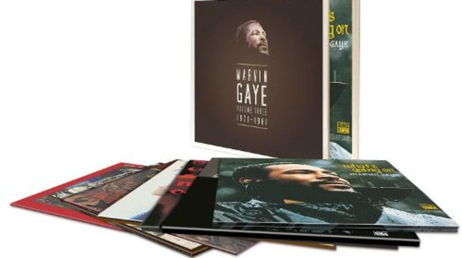 Marvin Gaye Volume Three 1971 1981 Holiday Gift