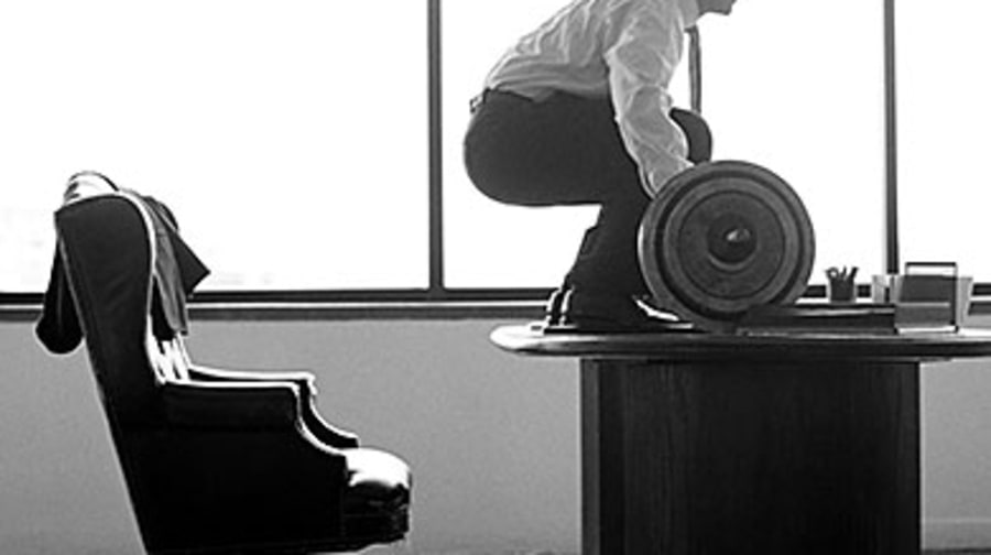 20 Easy Ways to Sneak a Workout in at the Office